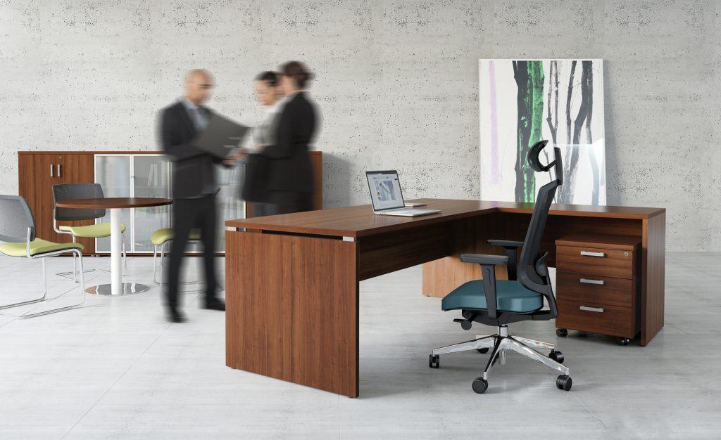 ECHO je rada kancelárskeho nábytku s klasickou formou